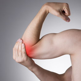 nerver i kläm armbåge